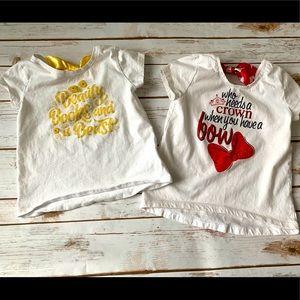 Disney Parks shirts (set of 2)